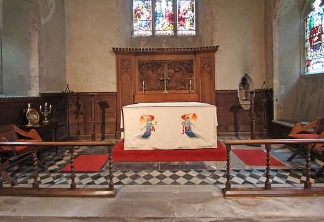 St Andrew, Congham - Sanctuary