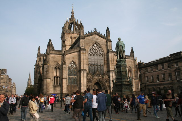 Edinburgh:  High Kirk of St. Giles ('St. Giles  Cathedral')