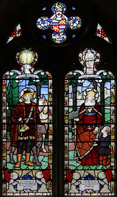 St Andrew, Congham - Stained glass window