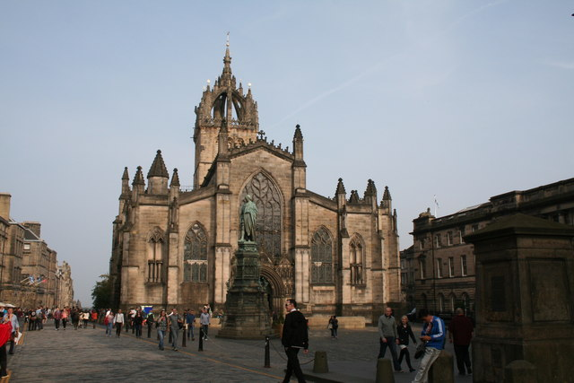 Edinburgh: High Kirk of St Giles ('St. Giles Cathedral')