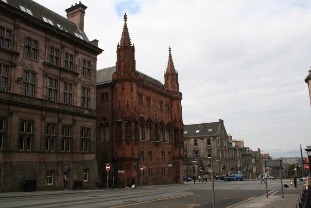 Edinburgh:  North St. Andrew Street