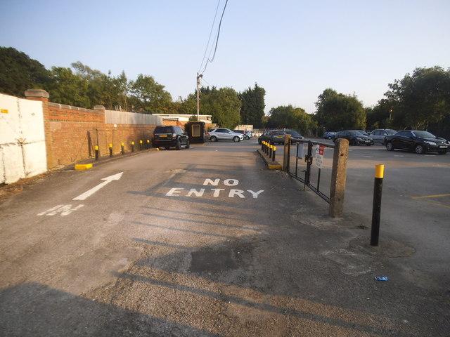 Sudbury Town station car park