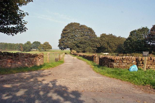 Track to Edenhall Grange