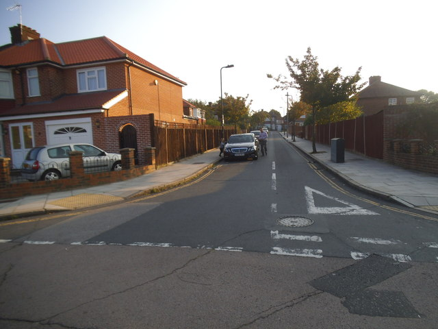 Crossgate at the junction of Orchard Gate