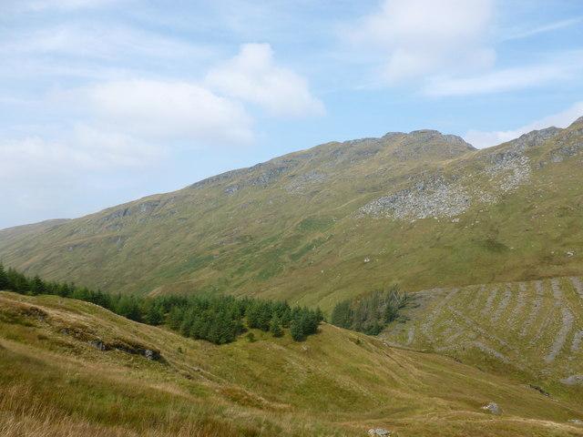 Hillside above Curra Lochain