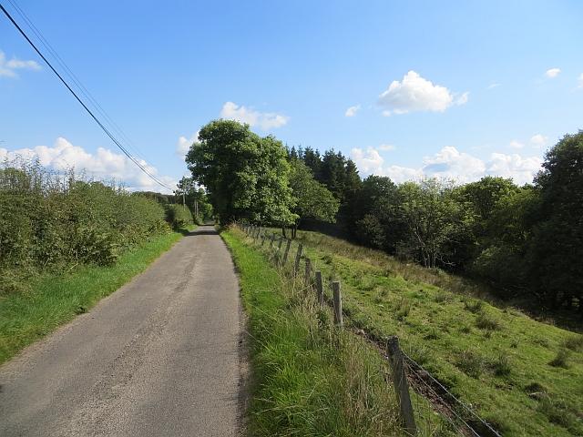 Minor road, Kirkmichael