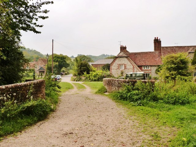 Church lane, West Dean, near Singleton,  West Sussex