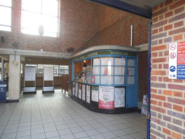 Shop in Sudbury Town Station forecourt