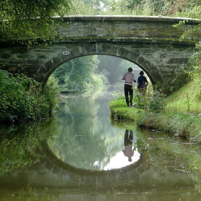 Deakins Bridge north-east of Scholar Green, Cheshire