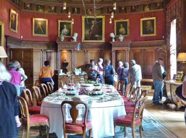 West Dean House.  The Dining Room