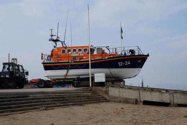 RNLI, Lil Cunningham Boat, Rhyl