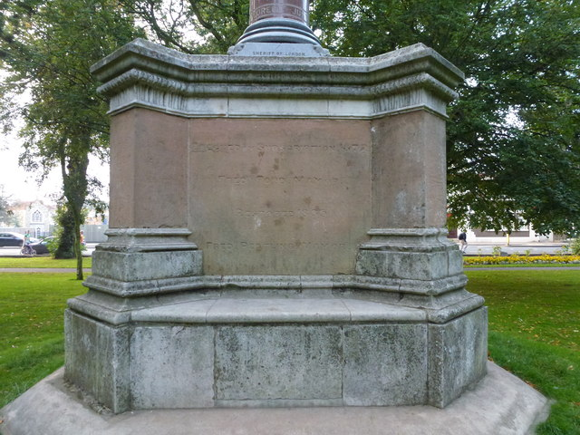 The Richard Young Memorial, The Park, Wisbech - Photo 15 of 16