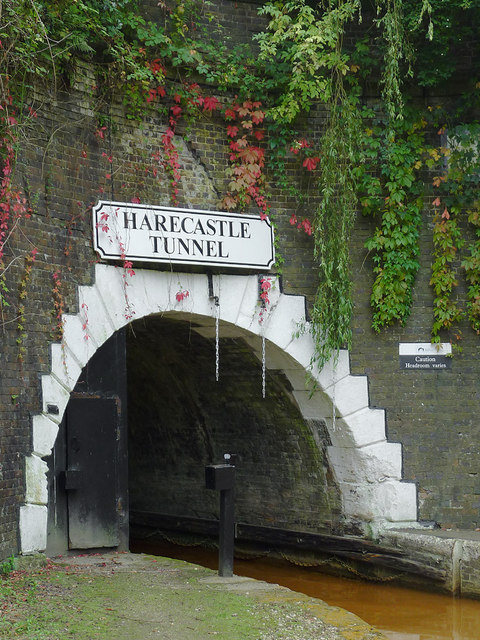 Harecastle Tunnel at Kidsgrove, Staffordshire