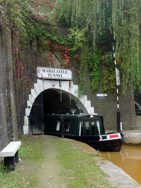 Harecastle Tunnel at Kidsgrove, Staffordshire
