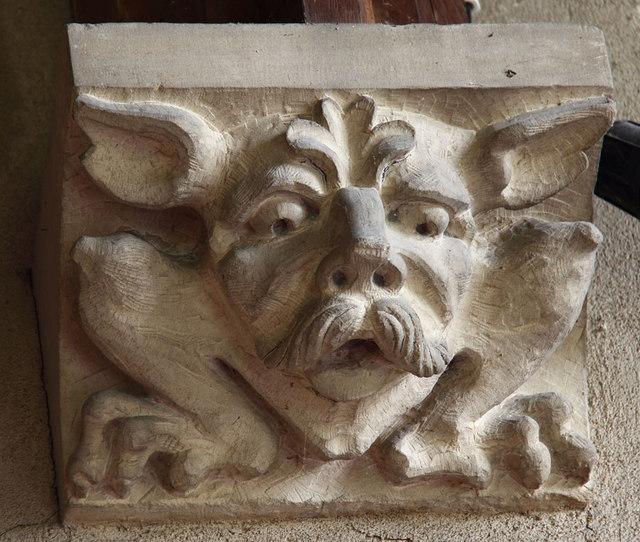 All Saints, Sharrington - Corbel