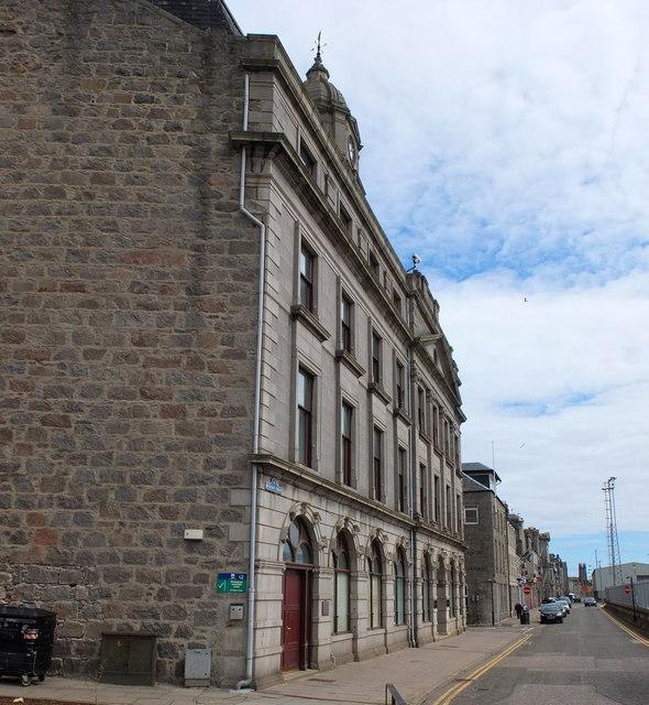 Harbour Board Offices, Regent Quay, Aberdeen