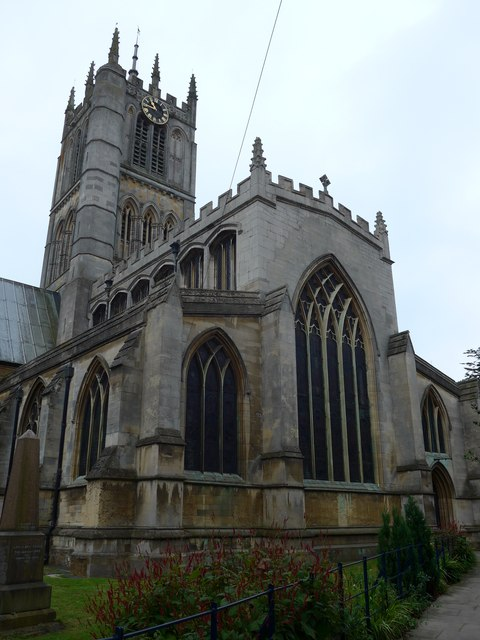 St Mary, Melton Mowbray: September 2014