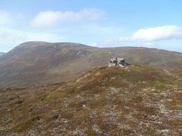 North West top of Meall na Caorach