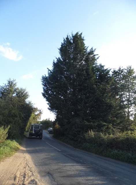Hound House Road south of Shere