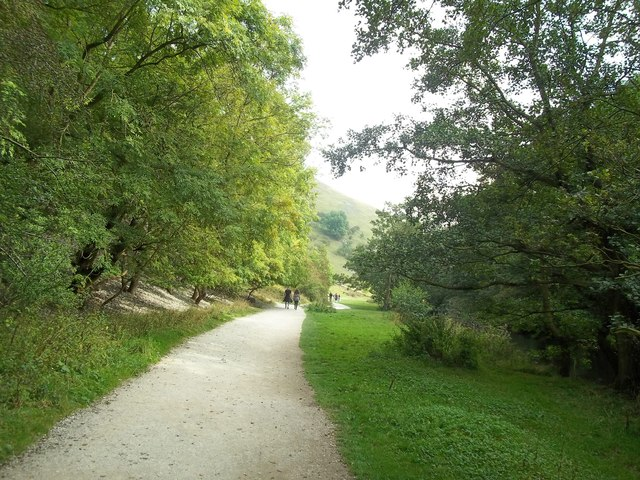 Path by the River Dove