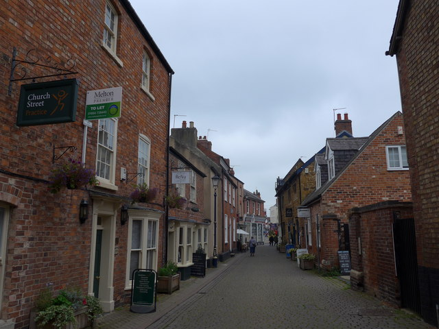 Looking northwards up Church Street