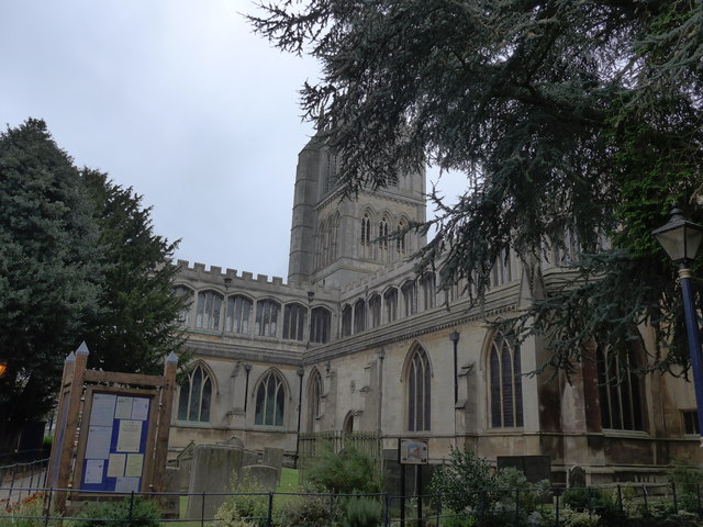 St Mary, Melton Mowbray: churchyard (d)