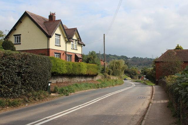 A443 through Eardiston