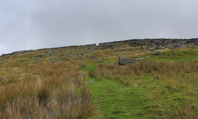 Ascending to Moor Gate
