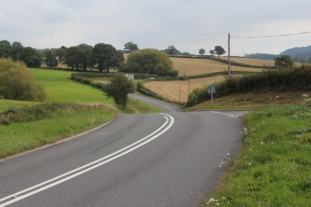 A443 towards Stockton