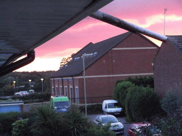 As the Sun sets over Bordon...