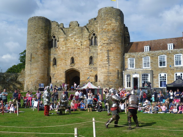 Medieval Fair in the grounds of Tonbridge Castle