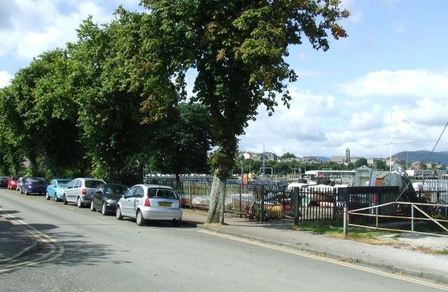 Boatyard at Cove Road