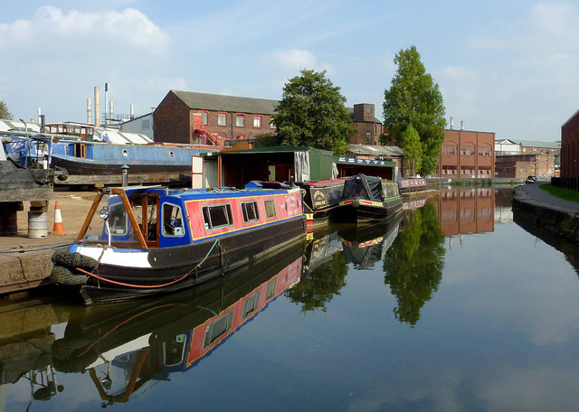 Trent and Mersey Canal near Longport, Stoke-on-Trent