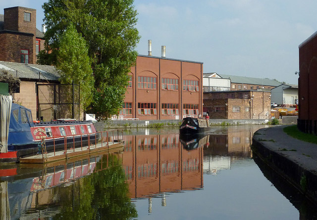 Trent and Mersey Canal near Middleport, Stoke-on-Trent