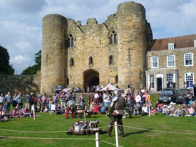Medieval Fair in the grounds of Tonbridge Castle