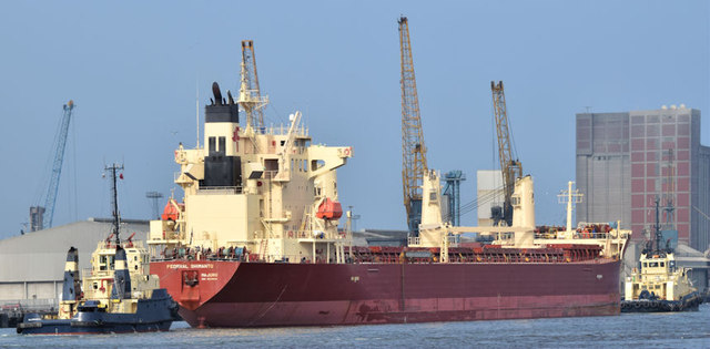 "The ""Federal Shimanto"", Belfast - September 2014(3)"