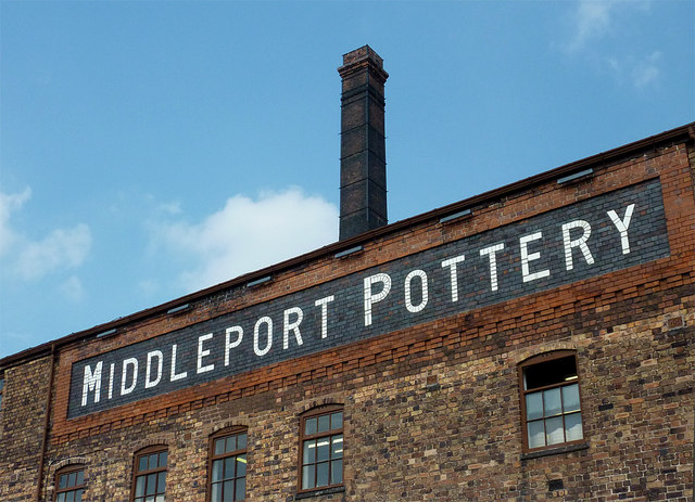 Middleport Pottery (detail)  near Burslem, Stoke-on-Trent