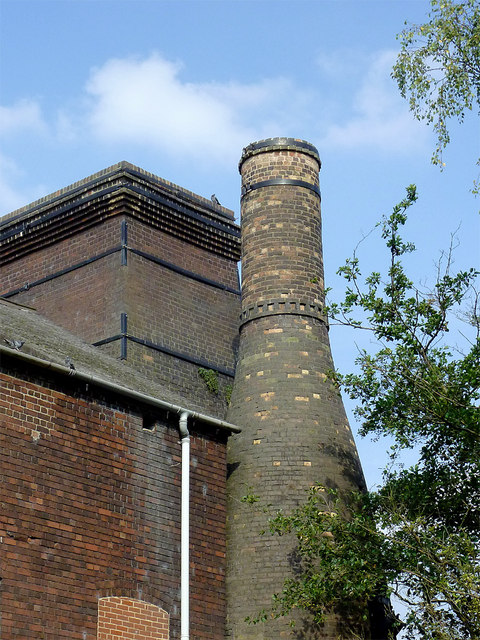 Former flint mill near Burslem, Stoke-on-Trent