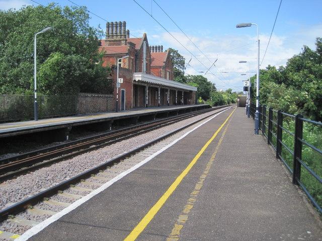 Needham Market railway station, Suffolk