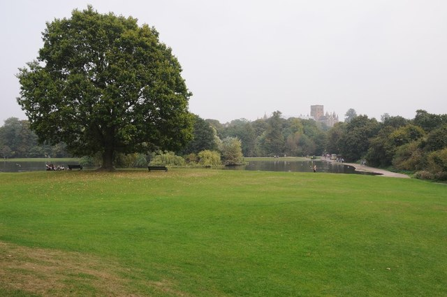 The Lake and St Albans Cathedral