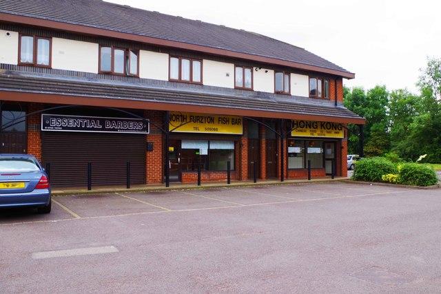 Shops in Dulverton Drive, Furzton, Milton Keynes