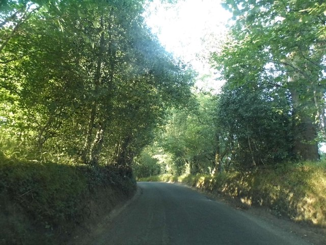 Barhatch Road leaving Cranleigh