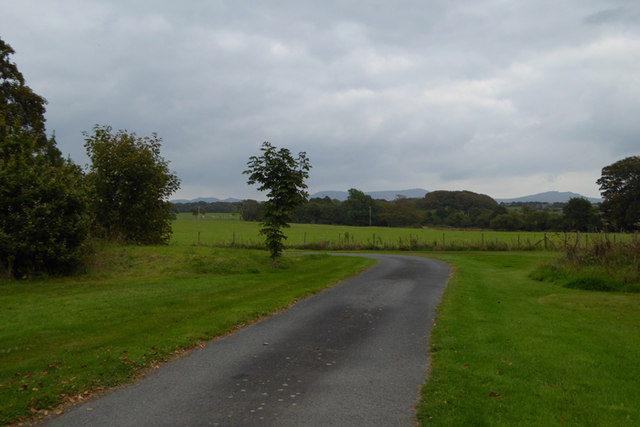 Driveway into Plas Newydd