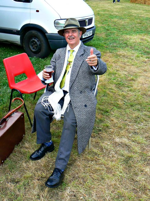 Wartime Weekend 2014 (17), Blunsdon Station