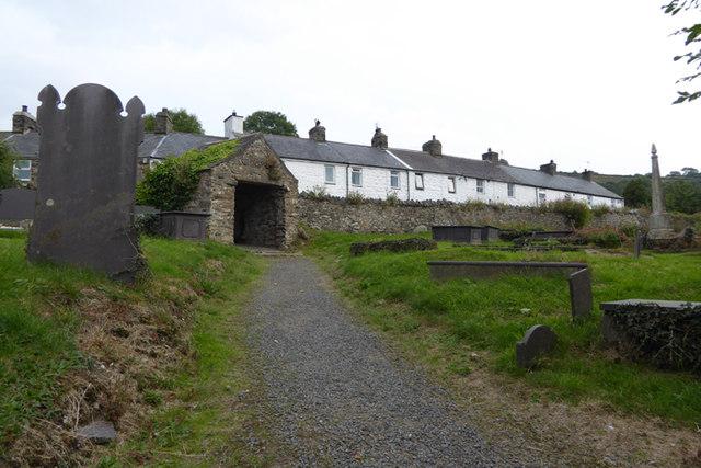 Churchyard of St. Beuno's Church, Clynnog Fawr