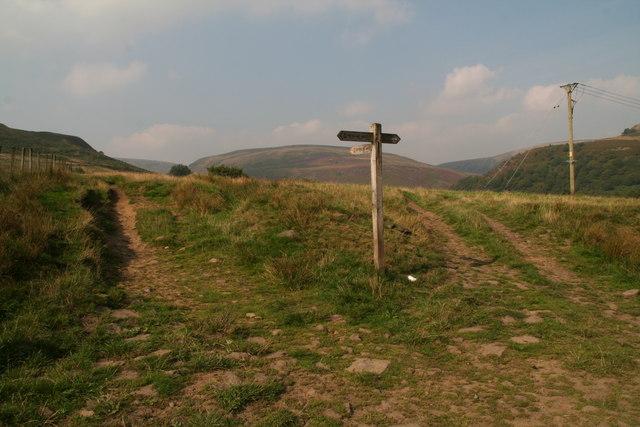 Pennine Way turning northwards