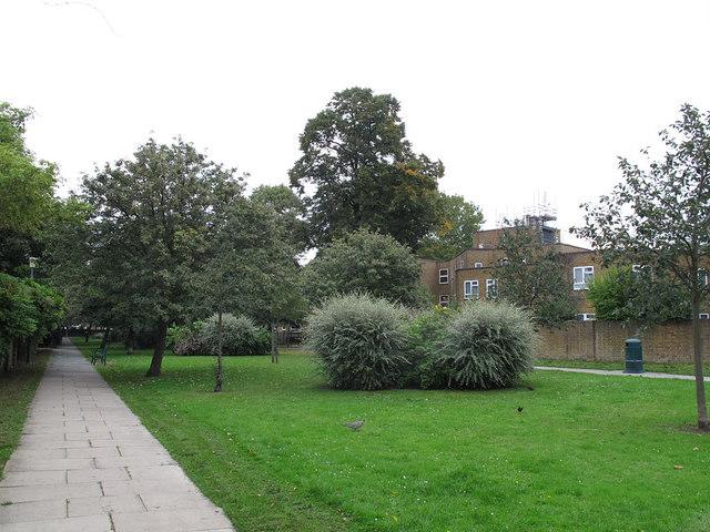 Vicarage Avenue, looking north