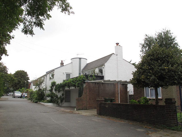 East end of Langton Way