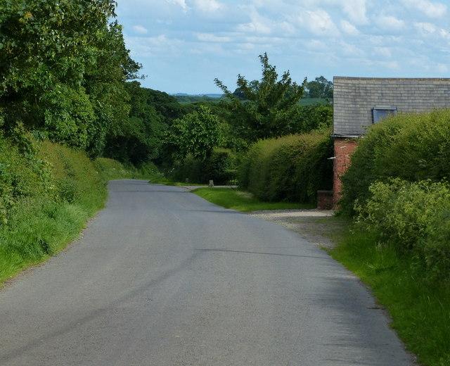 Lime Pits Farm along Illston Lane