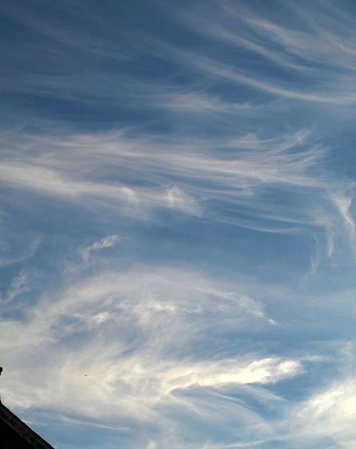 Mare's tails over Torquay